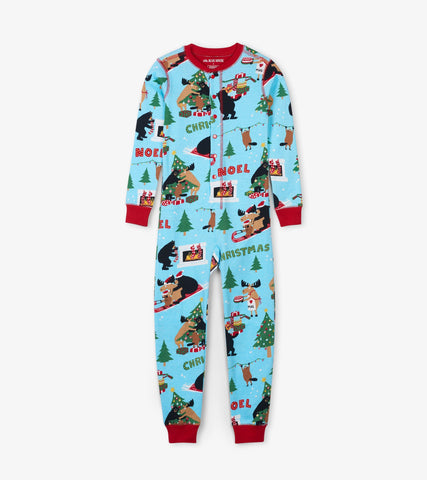 Little Blue House - Wild About Christmas Onesie *Preorder