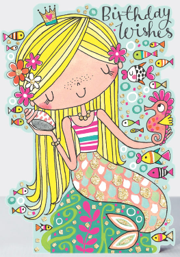 Rachel Ellen - Birthday wishes mermaid