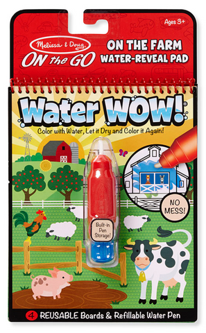 Melissa & Doug Water Wow - Farm