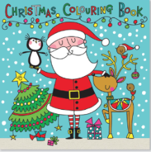 Rachel Ellen Christmas Colouring Book