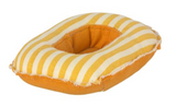 Maileg Rubber Boat - Yellow Stripe *Preorder