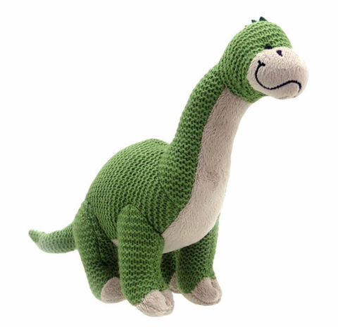 Wilberry Knitted brontosaurus dino