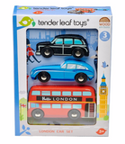 Tender Leaf Toys London Wooden Care Set