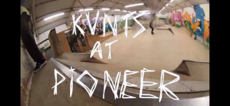 New video on our YouTube Channel. Kvnts at Pioneer