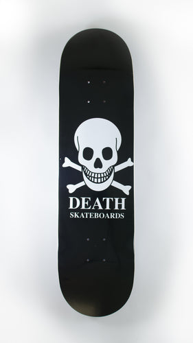 Death Skateboards - Black O.G. Skull Deck 8.25