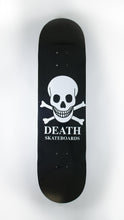 Load image into Gallery viewer, Death Skateboards - Black O.G. Skull Deck 7.5""