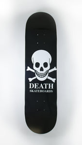 Death Skateboards - Black O.G. Skull Deck 7.5""