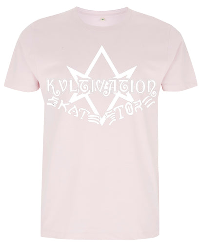 Kvltivation Skate Store - Ave Skatanas T Shirt Soft Pink