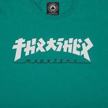Load image into Gallery viewer, Thrasher Mag - Godzilla T shirt Teal