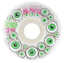 Load image into Gallery viewer, Heroin Skateboards - 52mm Eyes Wheels