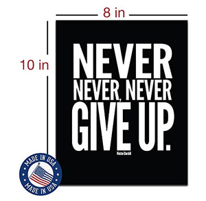 Motivational Quotes Workout Gym Posters - 8