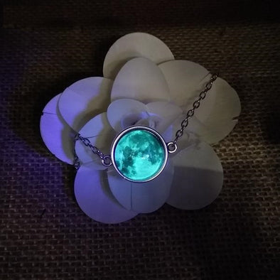 Bohemian Jewelry - Glow in the Dark Crystal Planet Bracelet
