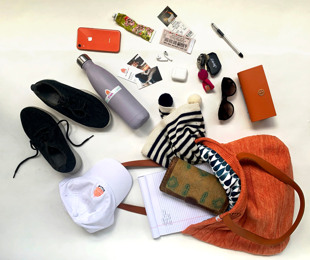 What's in Christina's Ainslie Tote?