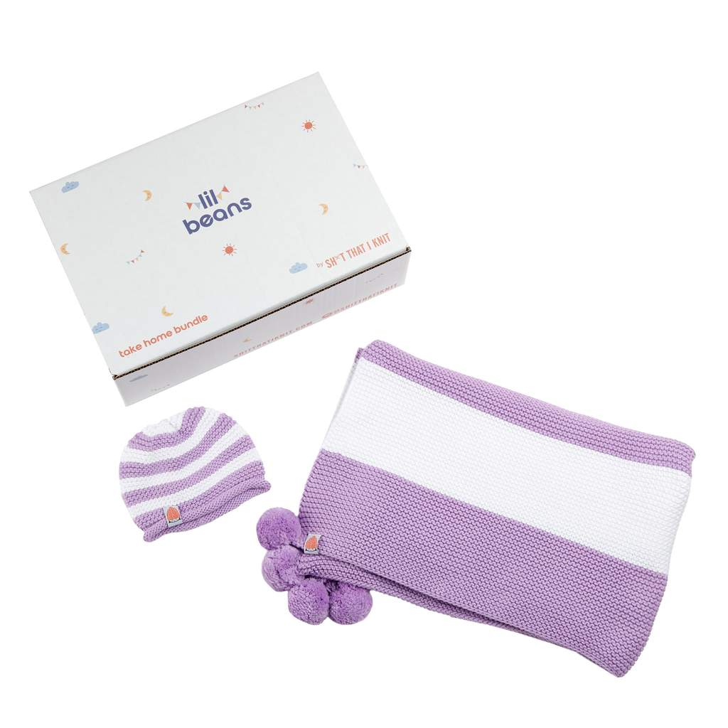 The Lil Baby Layette in Lavender