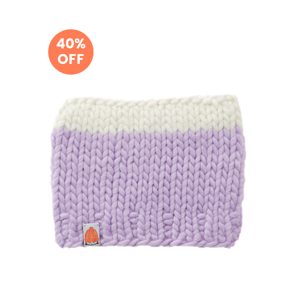 The Lil Carlisle Beanie in Lavender