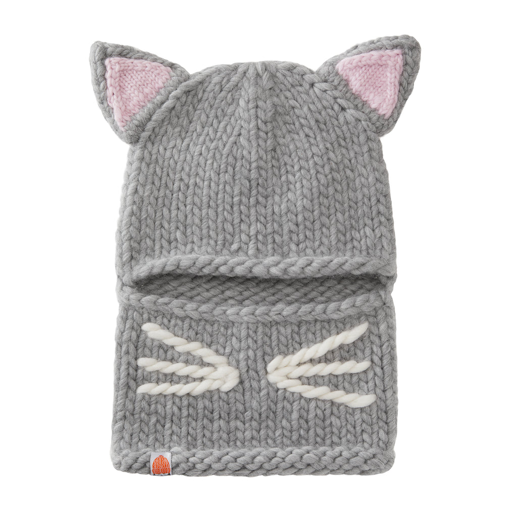 Hilaria Baldwin for STIK - The Kitten Balaklava