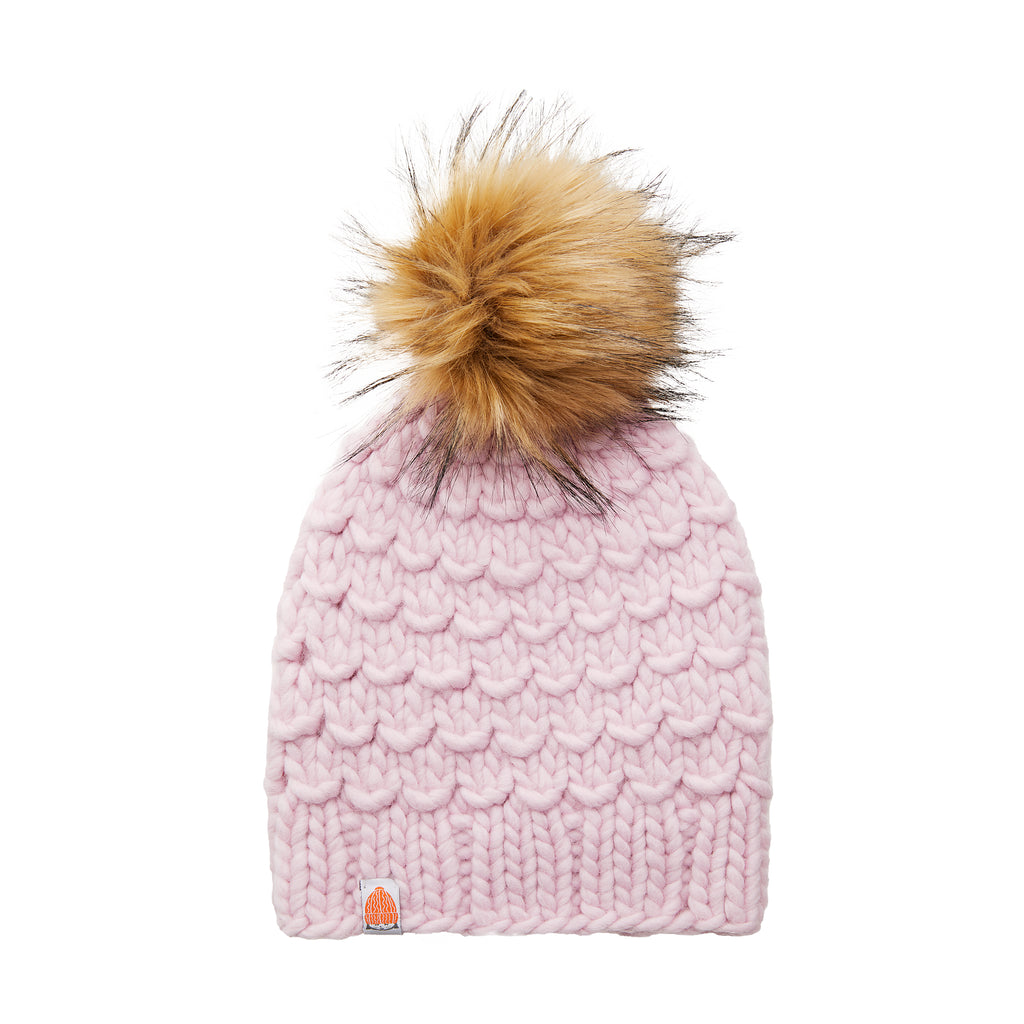 The Gunn Beanie in Blush