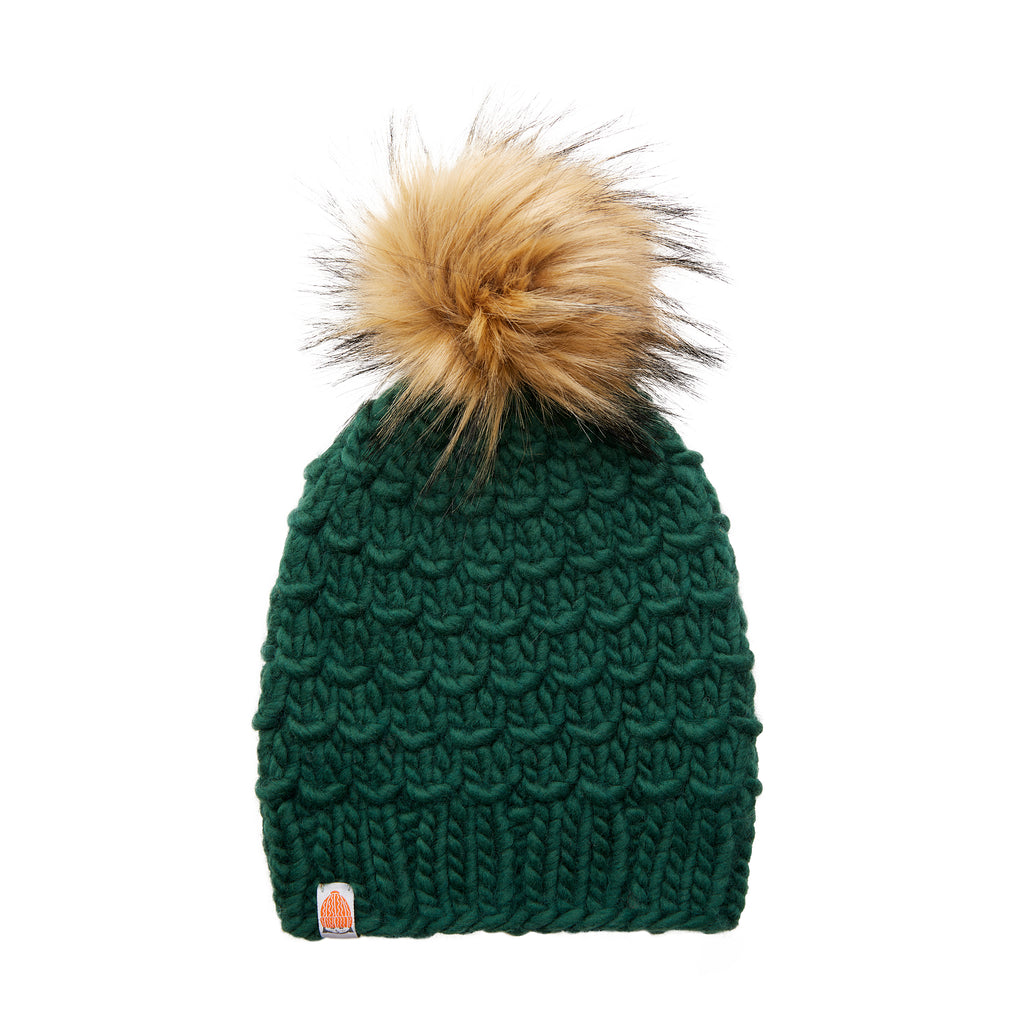 The Gunn Beanie in Forest