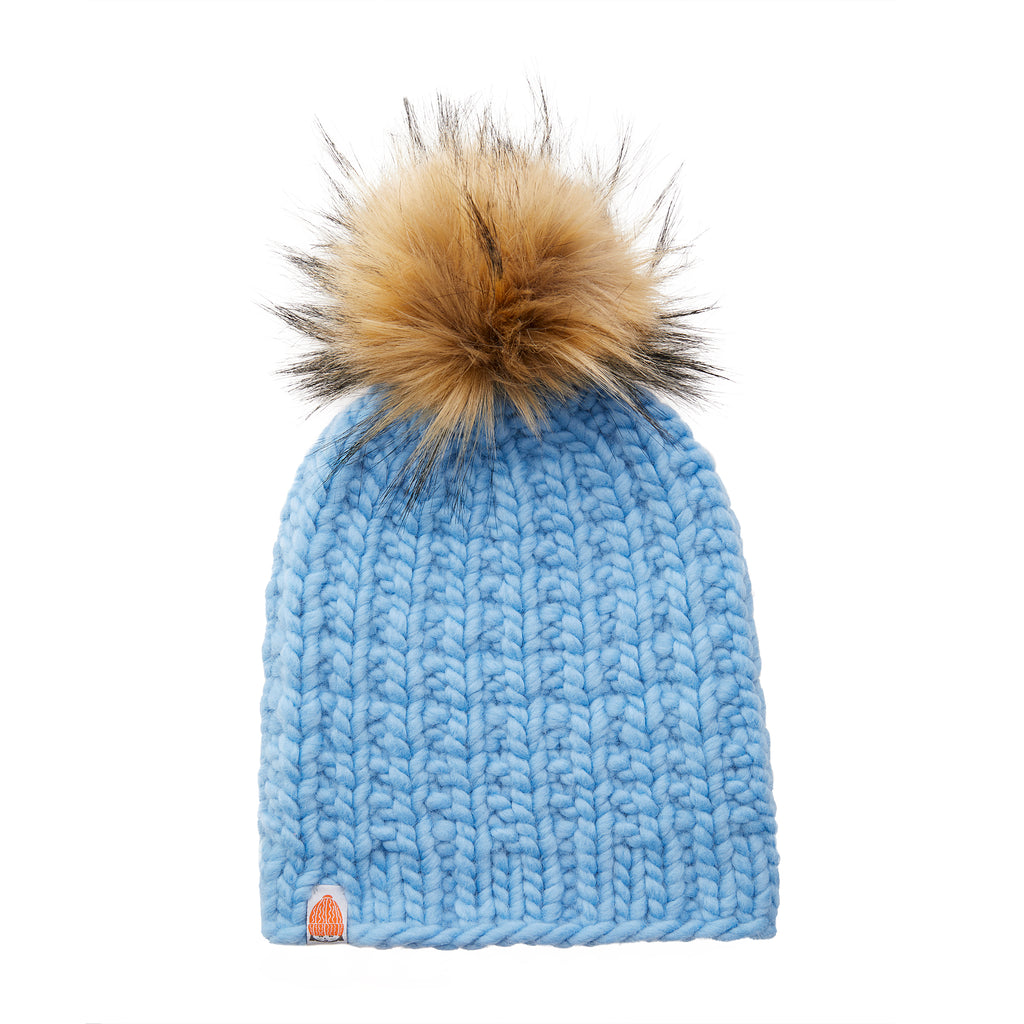 The Ladd Beanie in Sky