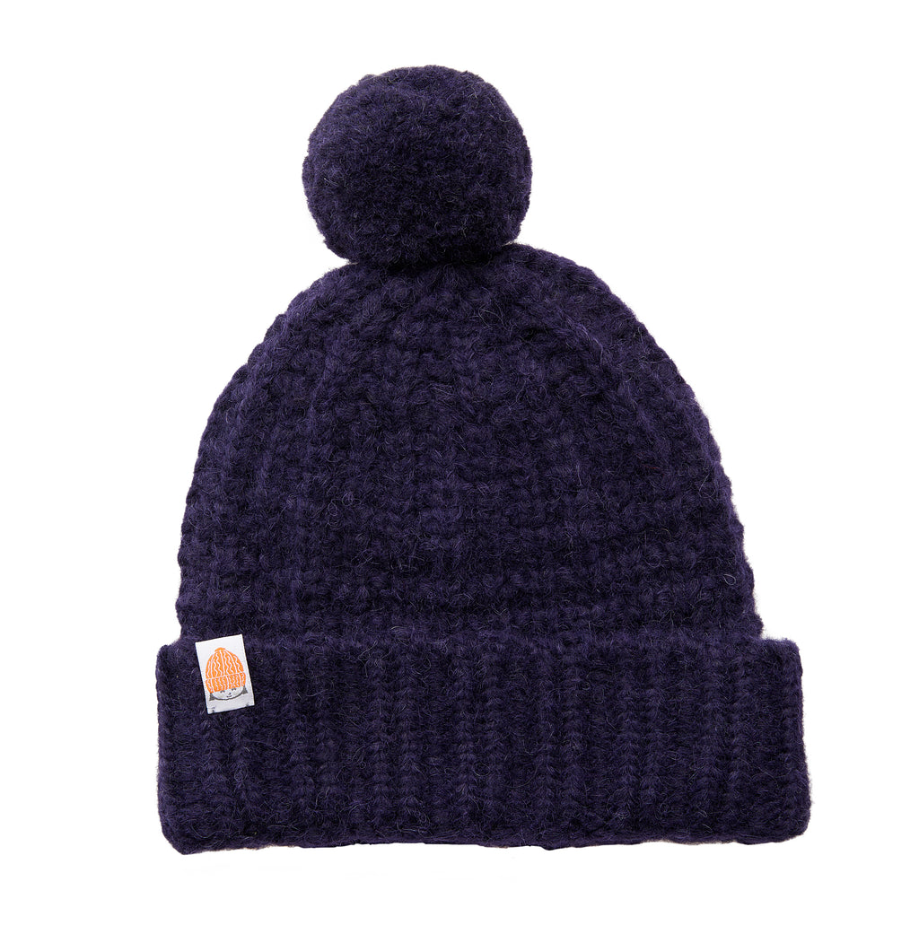 The Linus Beanie in Navy