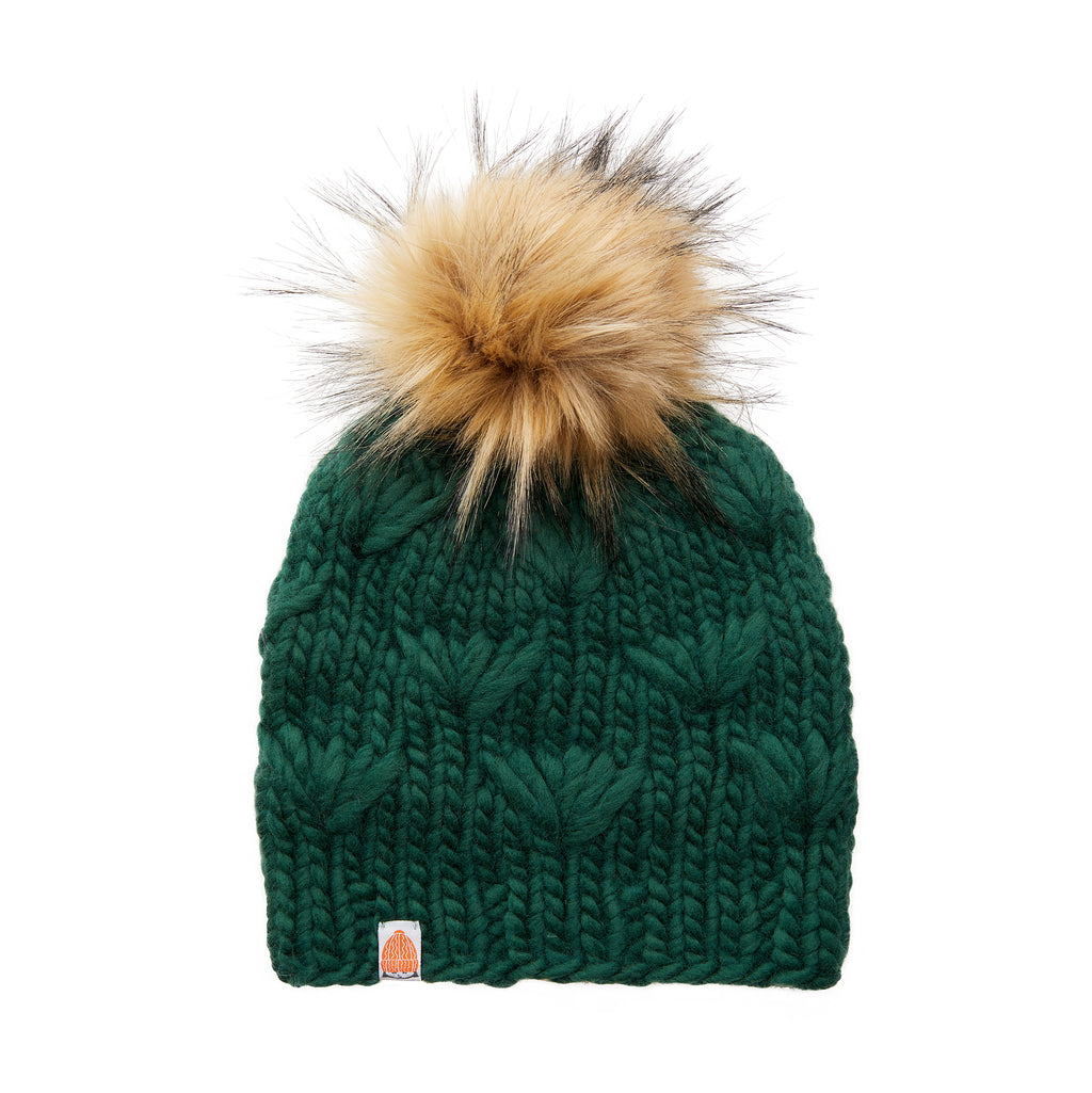The Motley Beanie in Forest