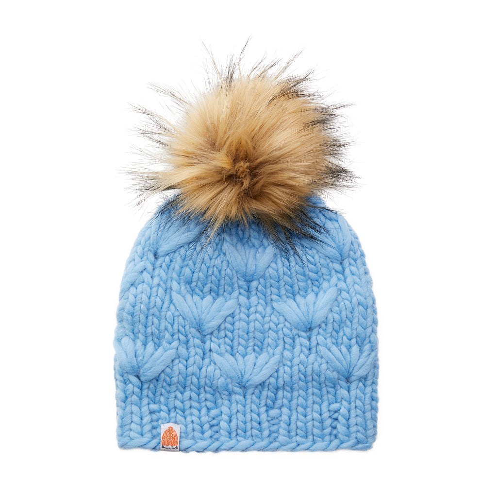 The Motley Beanie in Sky