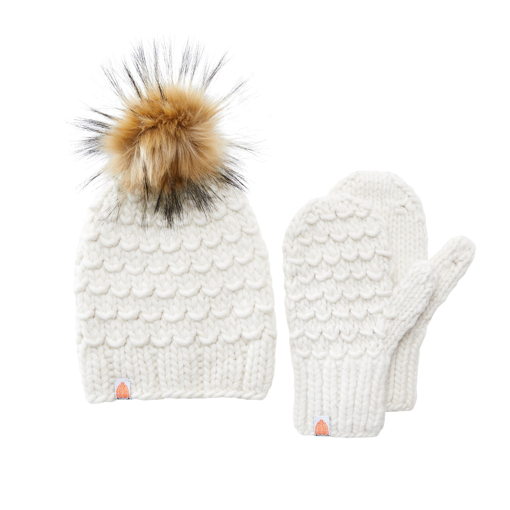 The Gunn Beanie + Mittens Bundle