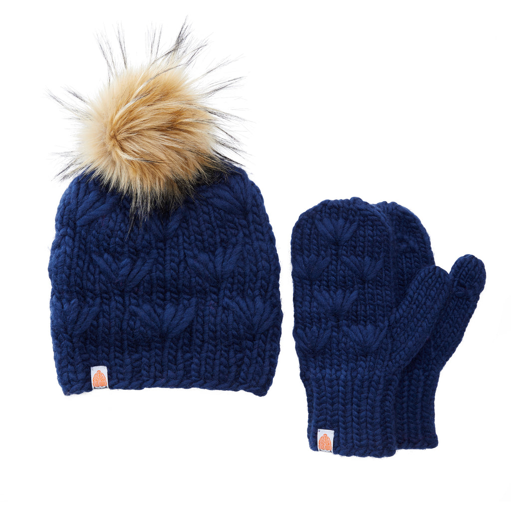 The Motley Beanie + MIttens Bundle
