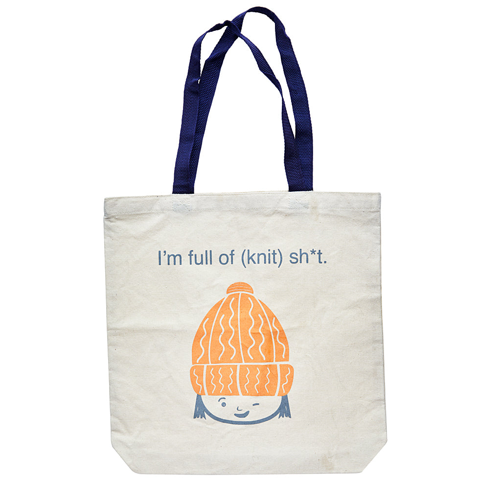 The Full of Knit Sh*t Tote