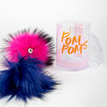 The Faux Fur Pom Pom Pack
