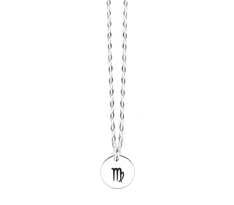 Zodiac Sign Virgo Necklace