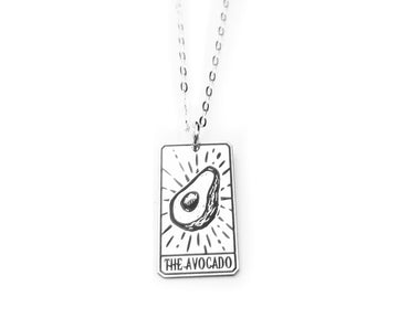 The Avocado Tarot Card Necklace