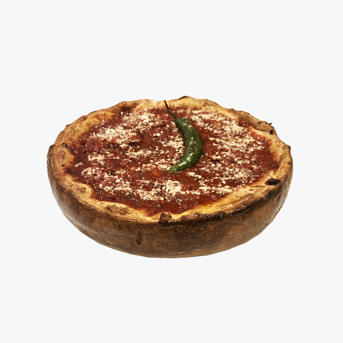 Chili-Chicago Deep-dish