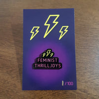 Feminist Thrilljoys Enamel Pin