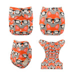 Baby Washable Reusable Nappies/Diapers with Microfibers Insert, 33 different designs