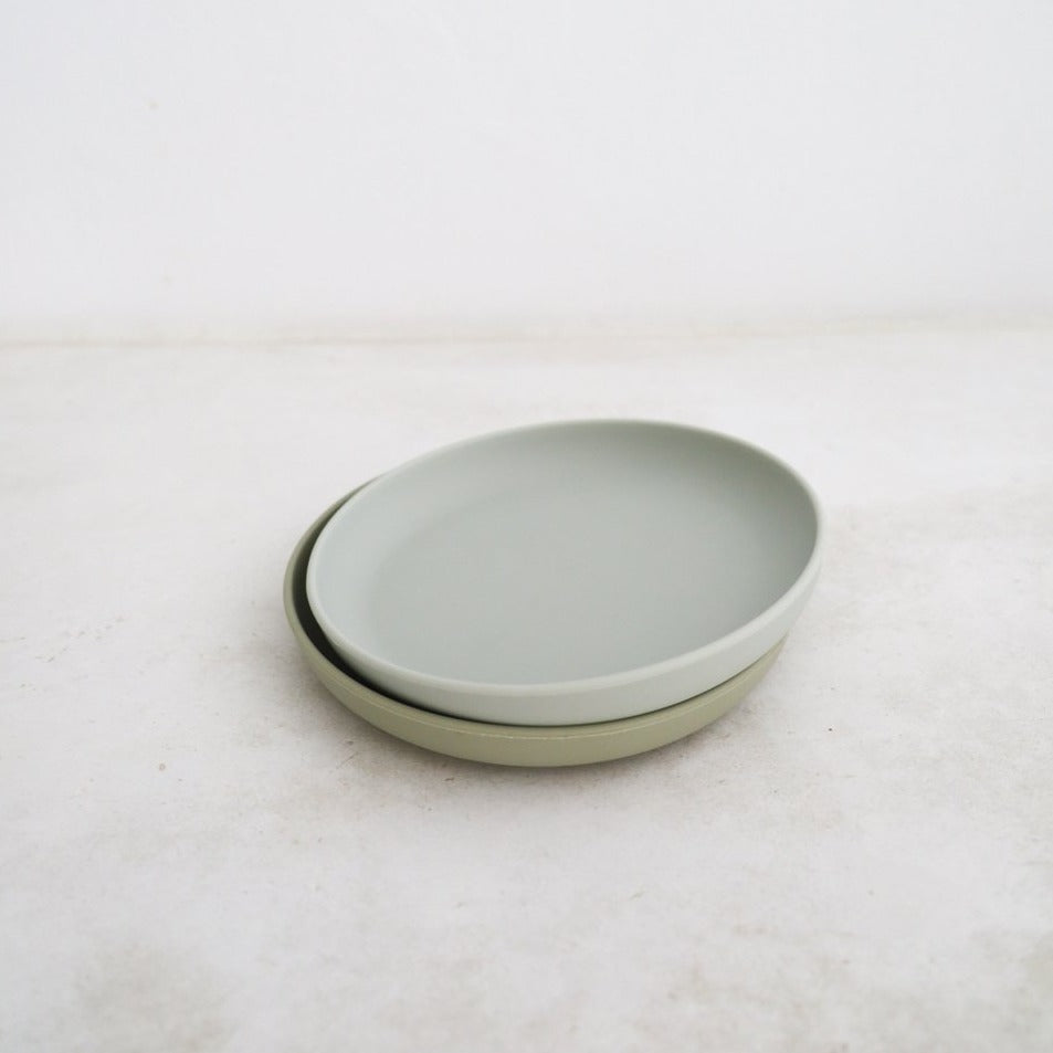 Cloud/Oyster Plate Set