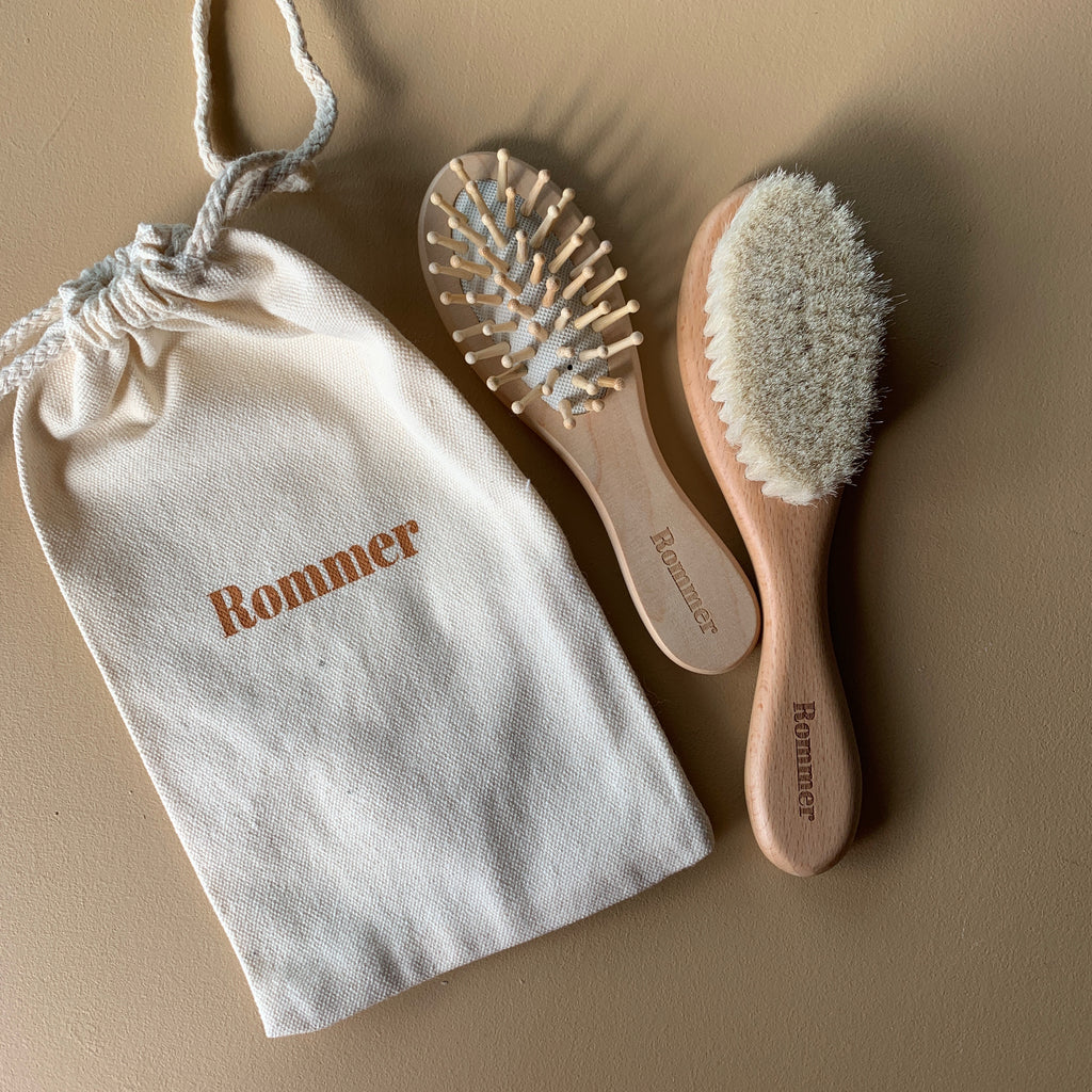 Rommer Baby Brush set