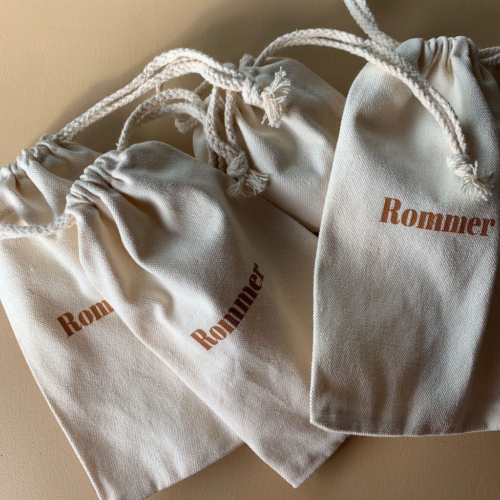 Rommer draw string bag