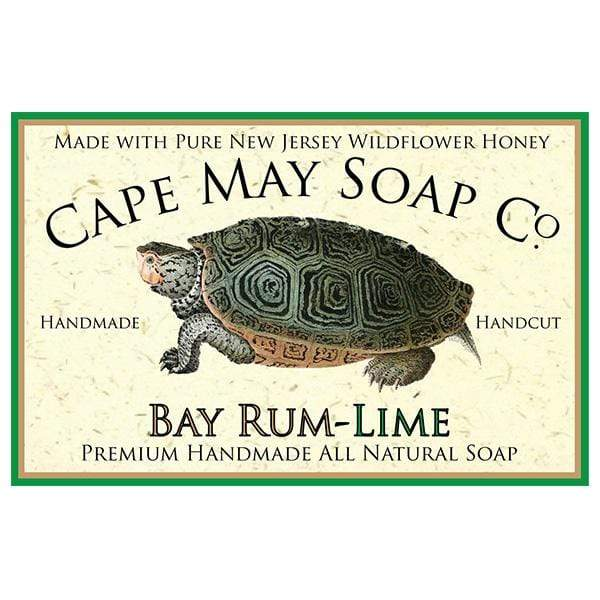 Bay Rum-Lime Soap | Cape May Soap Company