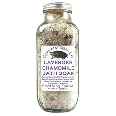 Lavender Chamomile Bath Soak | Cape May Soap Company