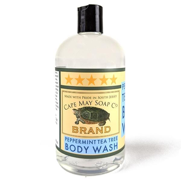 Peppermint-Tea Tree Body Wash | Cape May Soap Company