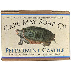 Peppermint Castile Soap | Cape May Soap Company