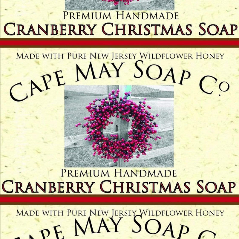 Cranberry Christmas Soap | Cape May Soap Company