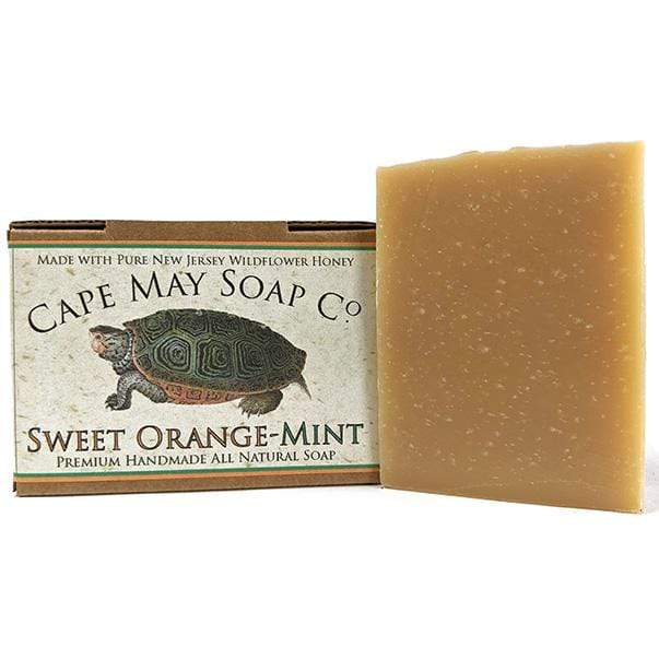 Sweet Orange-Mint Soap | Cape May Soap Company