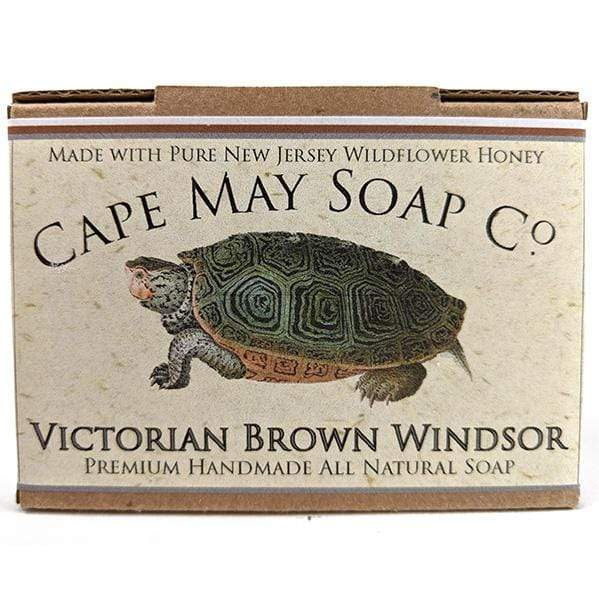 Victorian Brown Windsor Soap | Cape May Soap Company