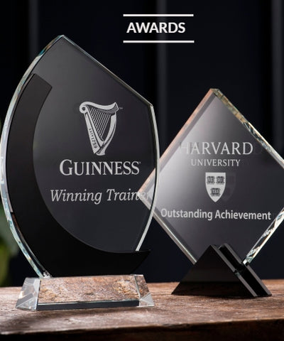 Galway Crystal Awards Engraved