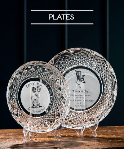 Galway Crystal Plate