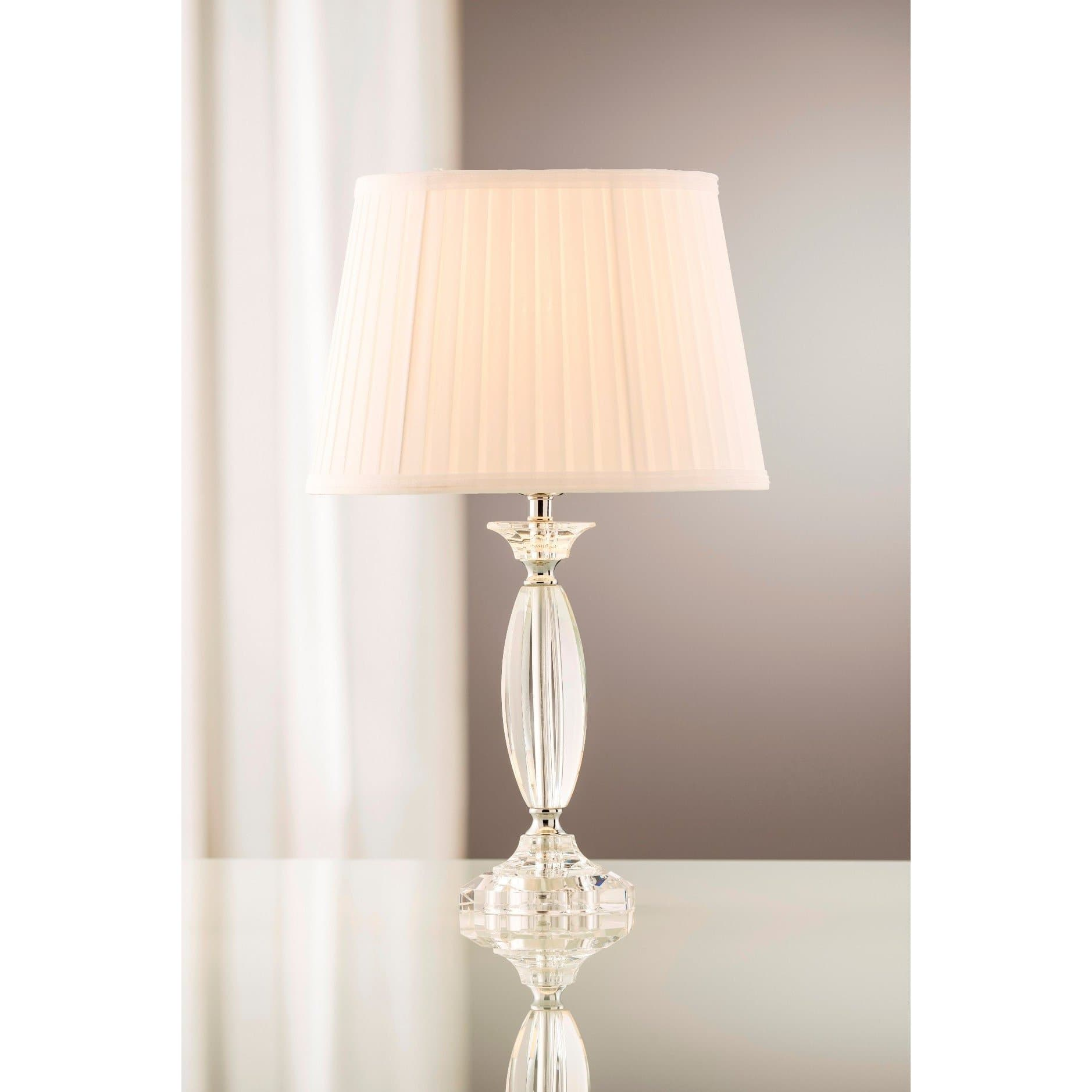 *DUE BACK END OCT* Lyon Lamp & Shade  (GLN61) (IRL UK Fitting)