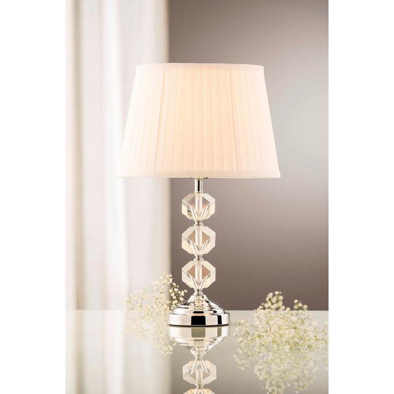Riviera Lamp & Shade (US Fitting) (GRV61US) - Galway Irish Crystal