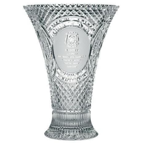 "14"" Waisted Vase Engraved (GM1111E)"